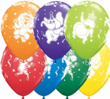 Party Animals - 11 Inch Balloons 25pcs